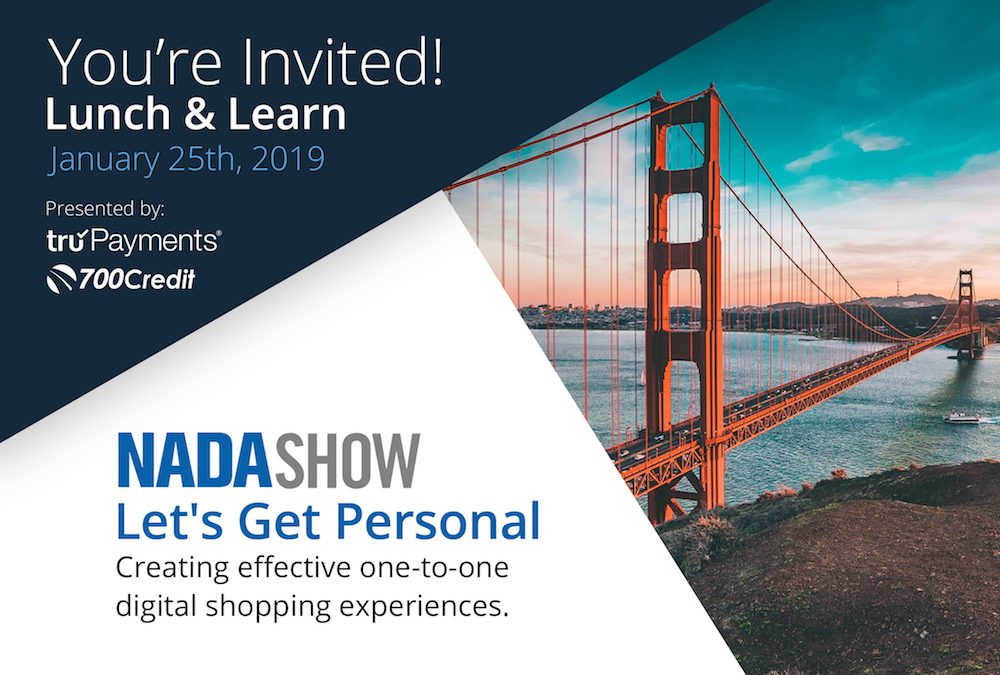 truPayments® Announces Lunch & Learn NADA 2019